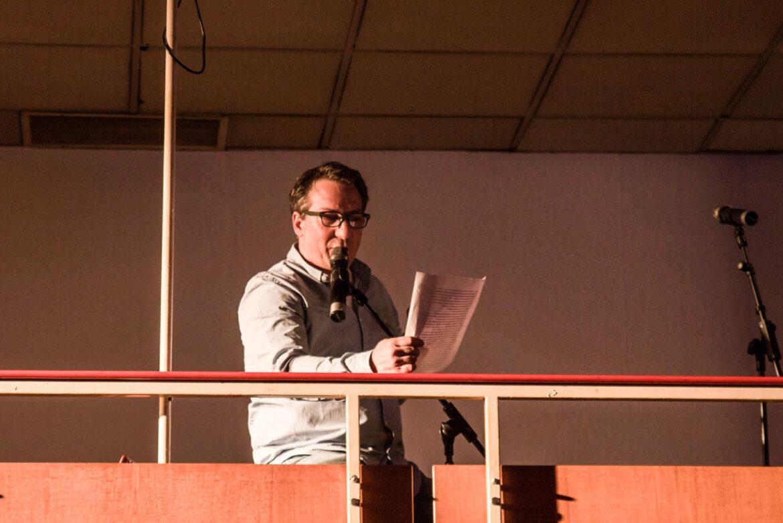 Buchpräsentation im Gartenbaukino, der Moddetektiv