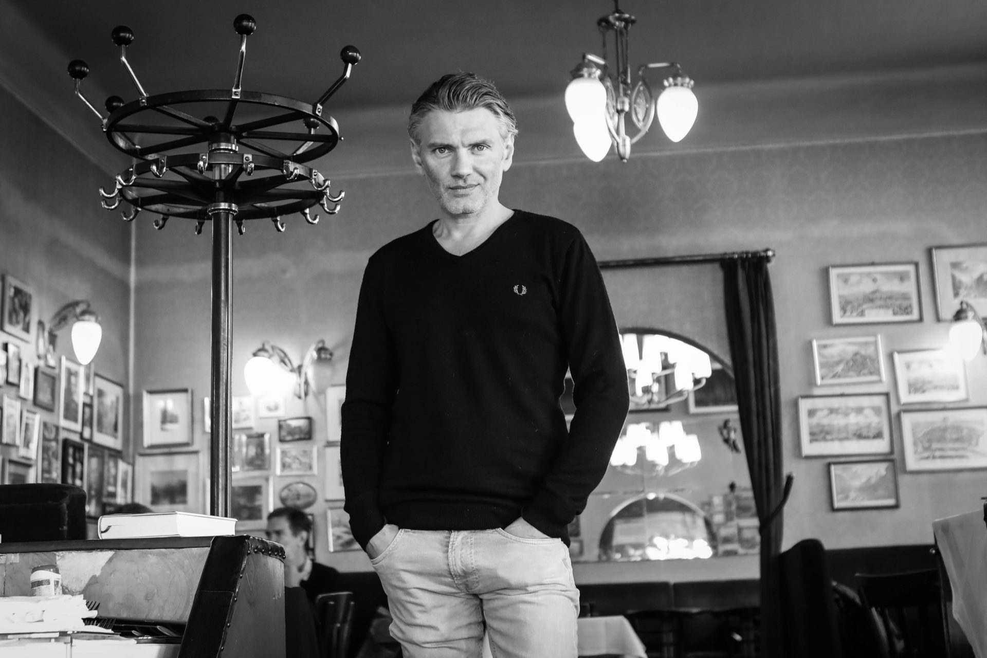 Christopher Just, DJ, Autor, MIlena Verlag, Der Moddetektiv,  Rave