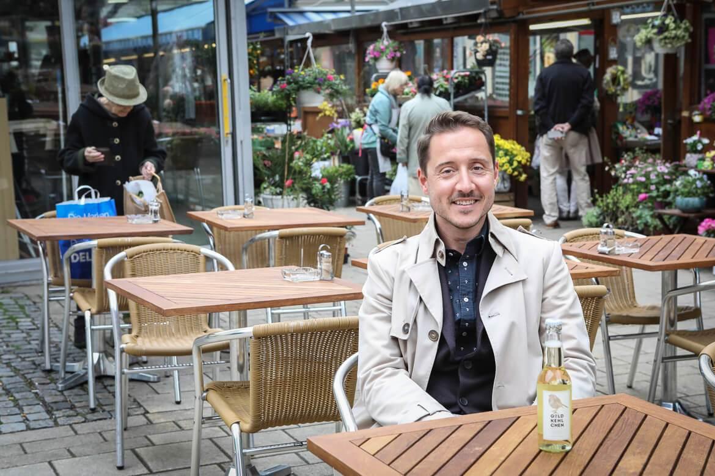 Adam Ernst, Goldkehlchen Cider, Geschäftsführer