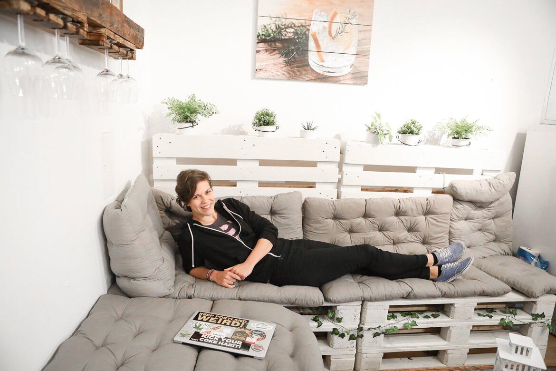 Lisa Duschek in der Code Factory Vienna