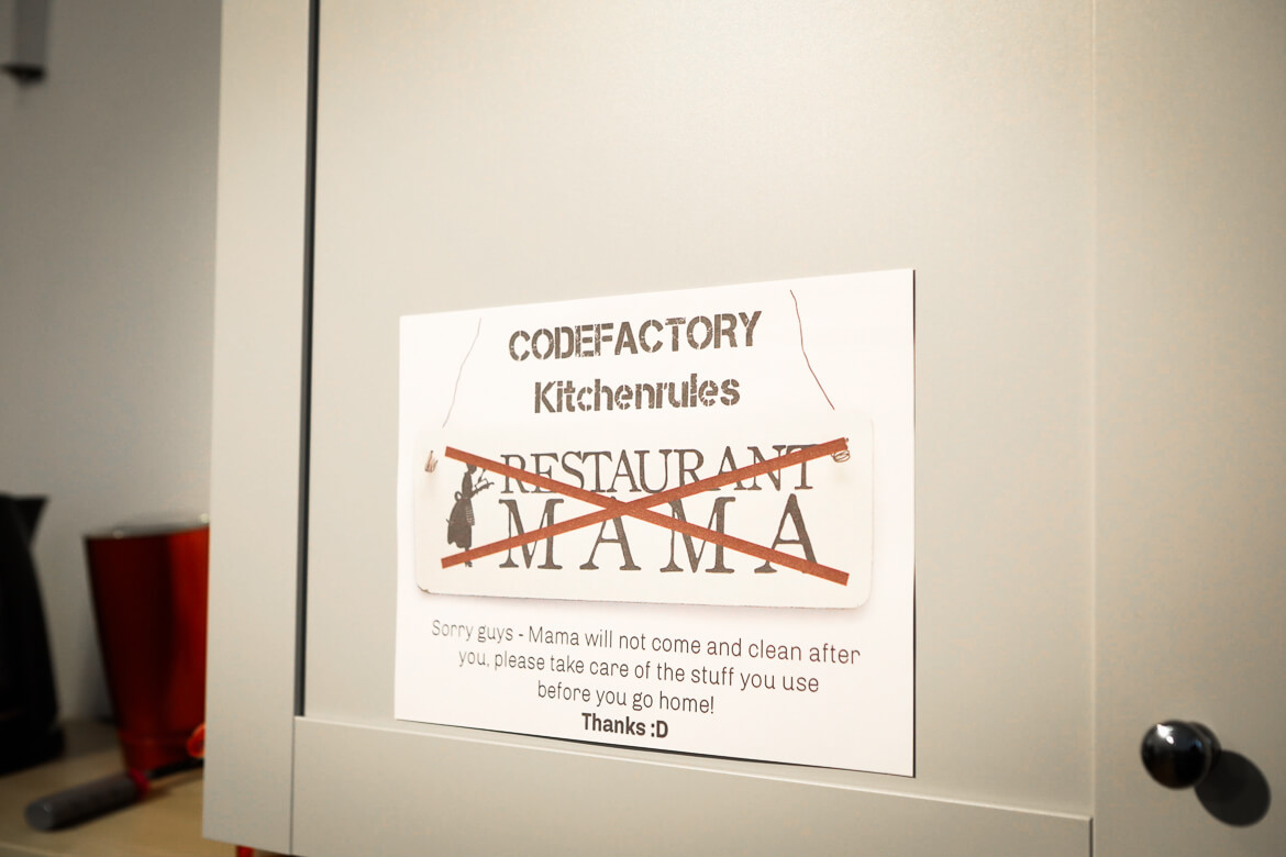 Vienna Code Factory Kitchen