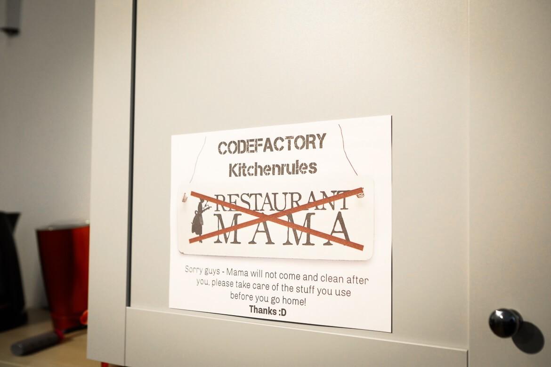 Vienna Code Factory Kitchen