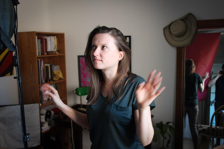 Ewa Placzynska, austro-kanadische Schauspielerin, actress, Toronto, oida