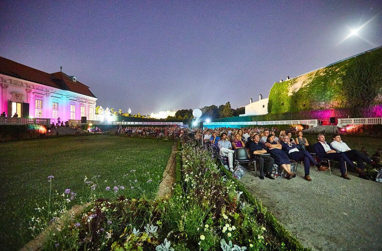 Kino im Unteren Belvedere, Kammergarten