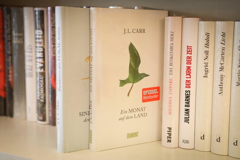 Ein Monat auf dem Land, J.L. Carr, Dumont Verlag, Spiegel Bestseller, Buchhandel