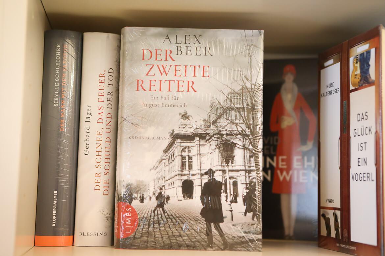 Der zweite Reiter von Alex Beer, Ein Fall für August Emmerich, Limes Verlag