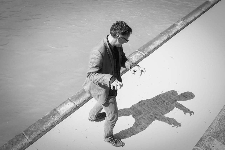Donaukanal,. Schattenmonster, shadowmonster, Eugene Quinn, Vienna Guide, MadameWien, Madamewien, madamewien.at