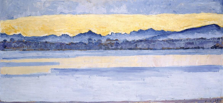 Ferdinand Hodler, schweizer Maler, Expressionismus