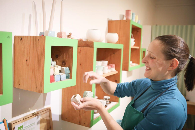 Keramikerin, Porzellan, Design