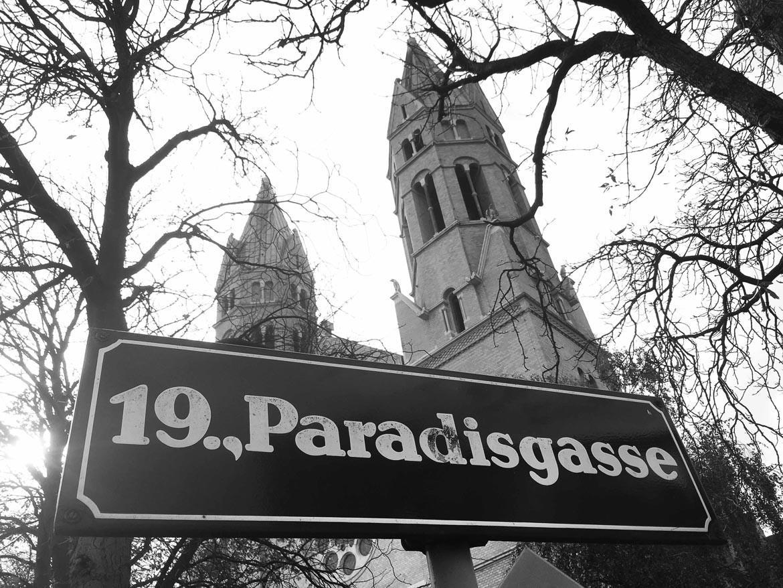 Strassenschild in Wien, MadameWien, Madamewien, madamewien.at
