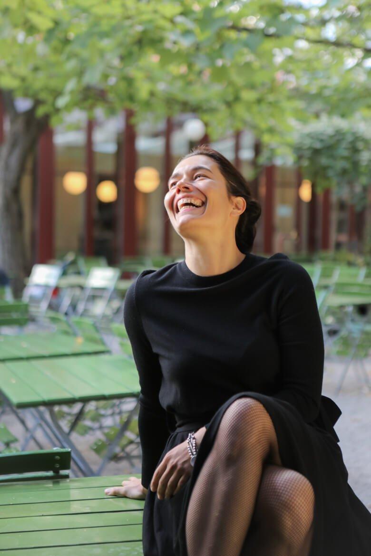 Viennale director, Viennaledirector, laughing, Madamewien.at