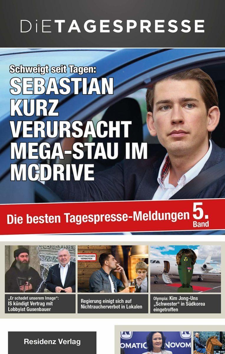 Sebastian Kurz verursacht Megastau im McDrive
