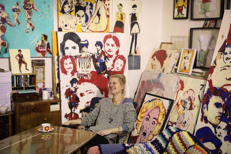 bildende Kunst, Künstlerin, Wien, pop-art, madamewien.at