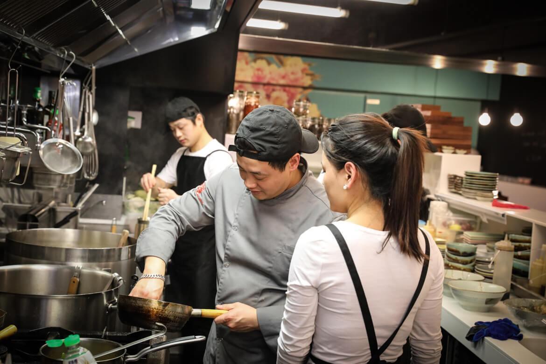 Liwei Sun, chinese kitchen in vienna, madamewien.at