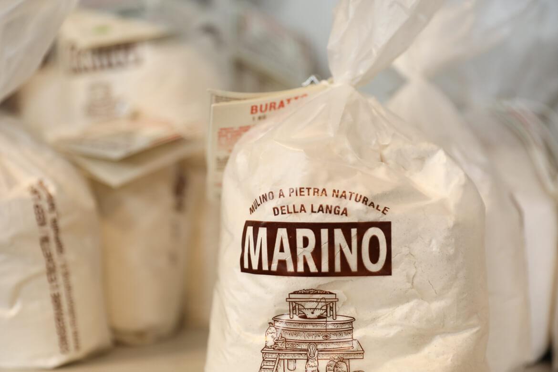 Mehl, italienisches Mehl. Backen, Brot
