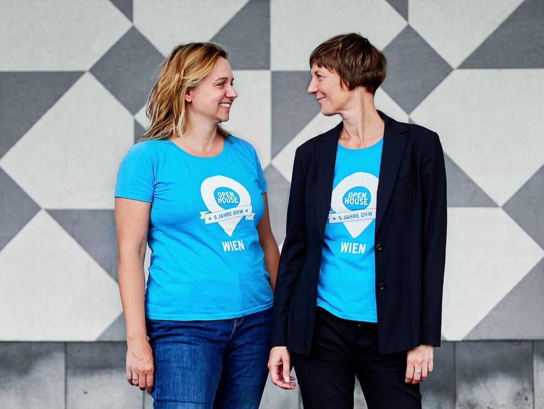 Die beiden Organisatorinnen(vlnr): Ulla Unzeitig & Iris Kaltenegger © Petra Rautenstrauch