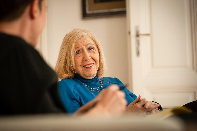 Psychoanalytikerin Erica Freeman